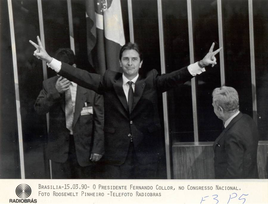 Collor - 1990 - congresso, impeachment