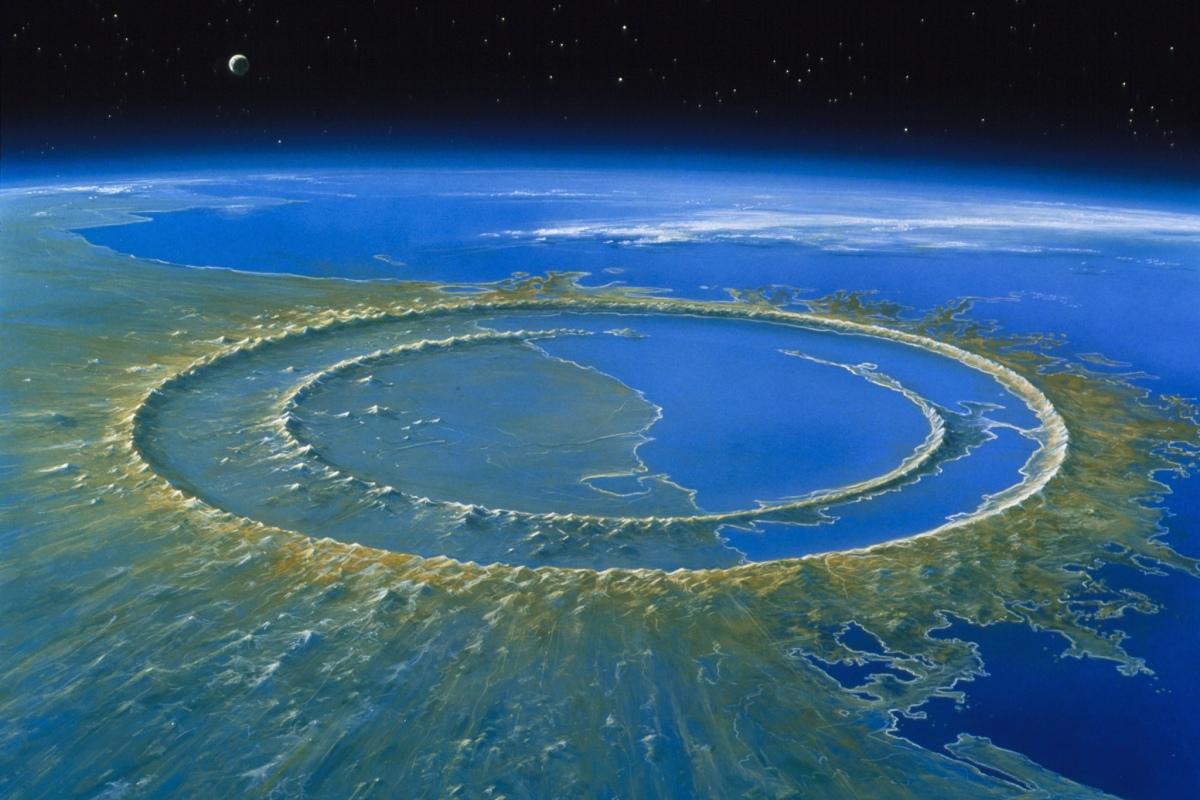 A cratera do fim do Dinossauros