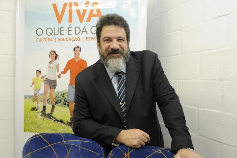 Mario Sergio Cortella foi assessor e chefe de gabinete de Paulo Freire, é licenciado em filosofia, mestre e doutor em Educação. Foto: Roni Rigon / Agencia RBS