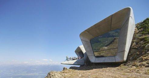 Museu de Montanha Messner Corones, no Monte Kronplatz (Itália).