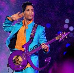 Prince durante um show em 2007.