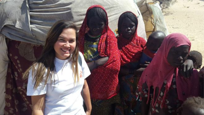 Em missão pelo Médicos Sem Fronteiras, Karina Teixeira enfrentou desafios no Chade, país africano mergulhado em um 'conflito esquecido pelo mundo'